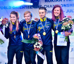 World Championships 2017, Sprint, Relay